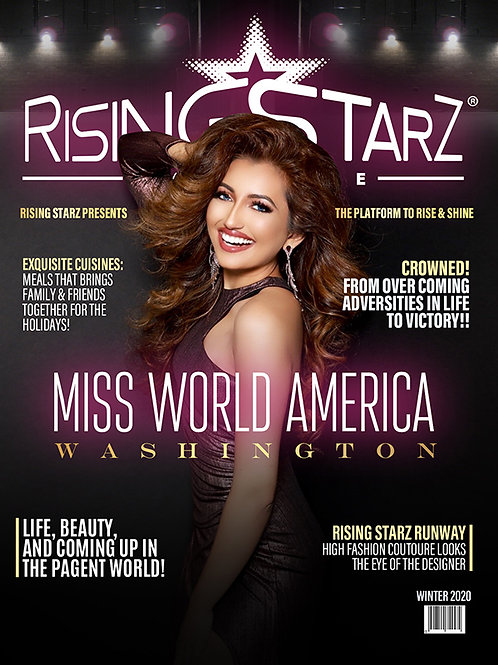 Rising Starz Miss World Cover