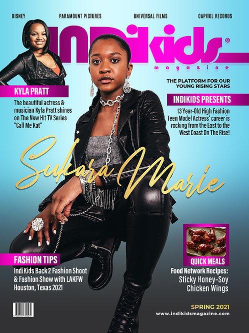 IDK Spring 2021 Issue Sukara Cover