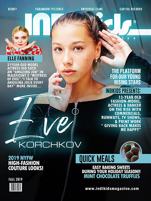 IDK Fall 2019 Issue Eve Cover