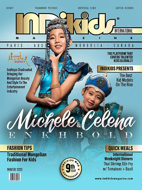 IDK Int'l Winter 2020 Issue Michele & Celena Cover