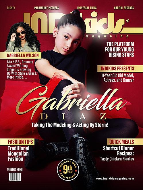 IDK Winter 2020 Issue Gabriella Cover