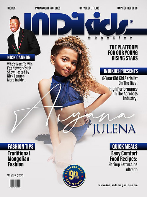 IDK Winter 2020 Issue Aiyana Cover
