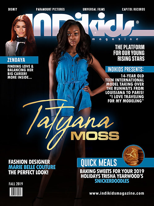 IDK Fall 2019 Issue Tatyana Cover