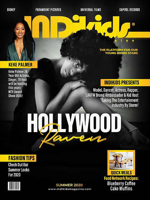 IDK Summer 2020 Issue Hollywood Raven Cover