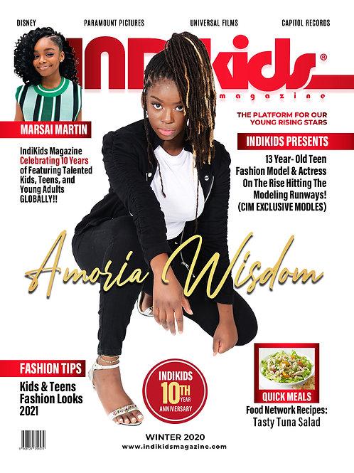 IDK Winter 2020 Issue Amoria Cover