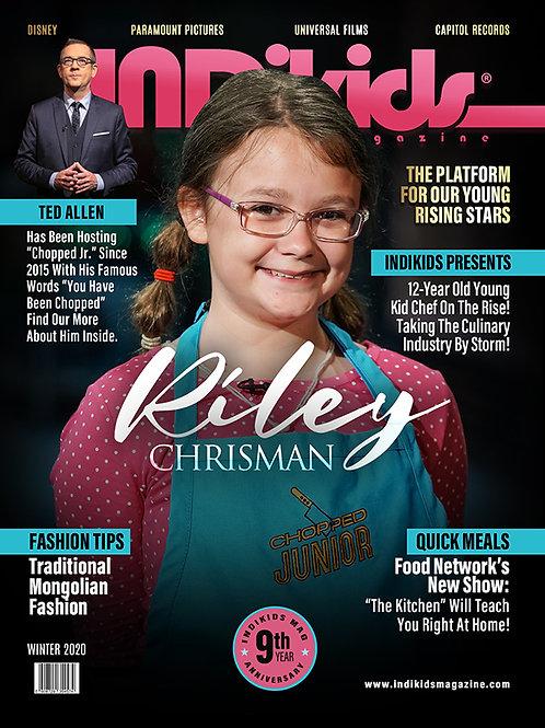 IDK Winter 2020 Issue Riley Cover