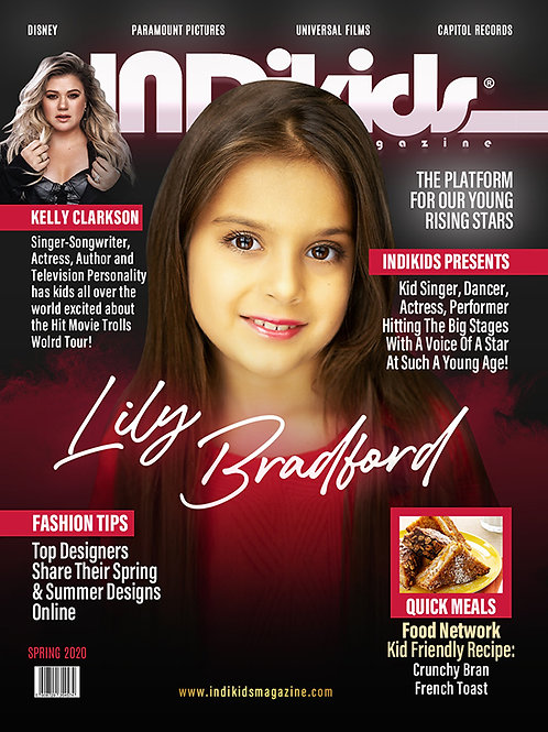 IDK Spring 2020 Issue Lily Cover