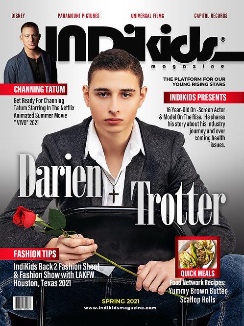 IDK Spring 2021 Issue Darien Cover