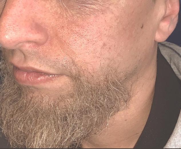 Fake Beard/Age makeup