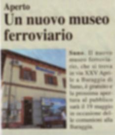 Articolino apertura Museo