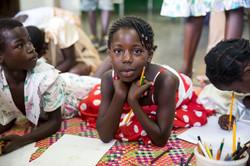 Afaayo HIV Children's clinic - credit Jonathan Torgovnik