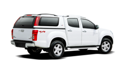 Isuzu D-Max with Cover