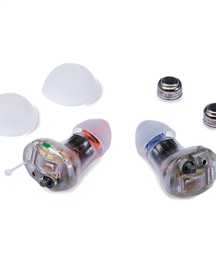 For mild hearing losses, the nearly invisible design includes 2 listening situations, conversation & crowd. Hearing aid amplifier.