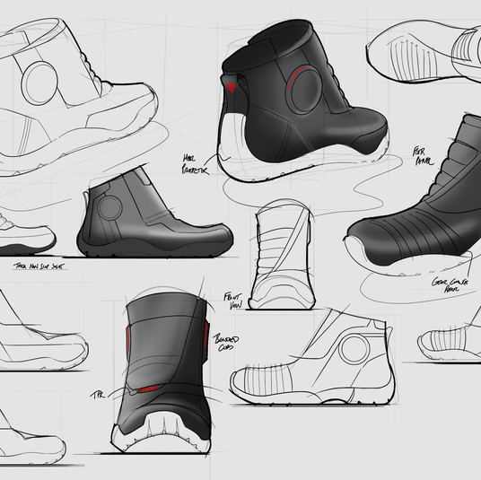 Boot Sketch Development