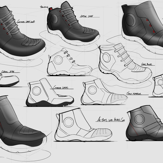 Boot Sketch Development