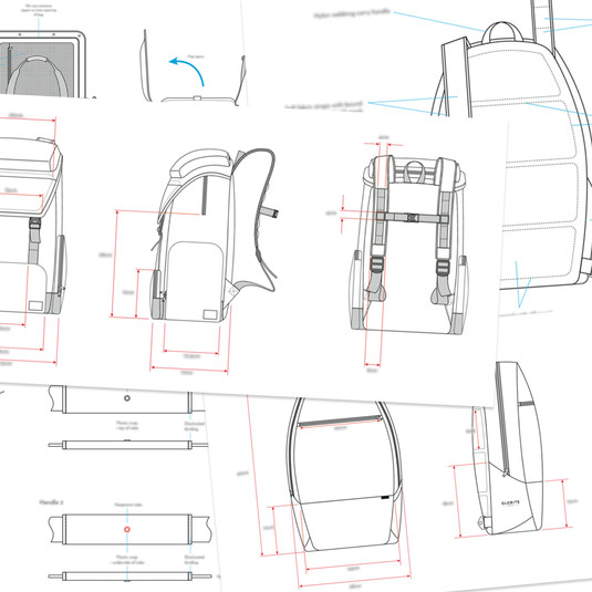 Luggage Technical Packs