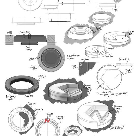 Trim Development Sketches