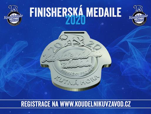 Odtajnili jsme finisherskou medaili pro rok 2020