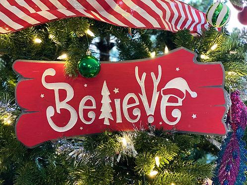 Christmas Log Signs