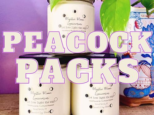 Peacock Packs Monthly Subscription boxes