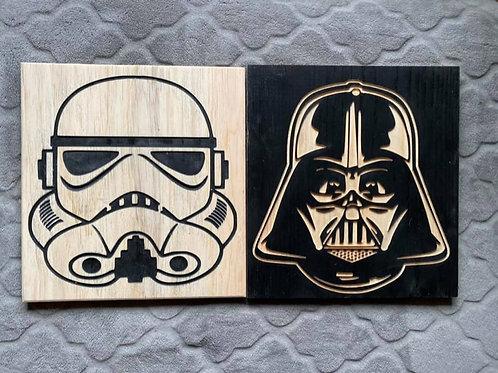 Star Wars Set Darth and Storm Trooper