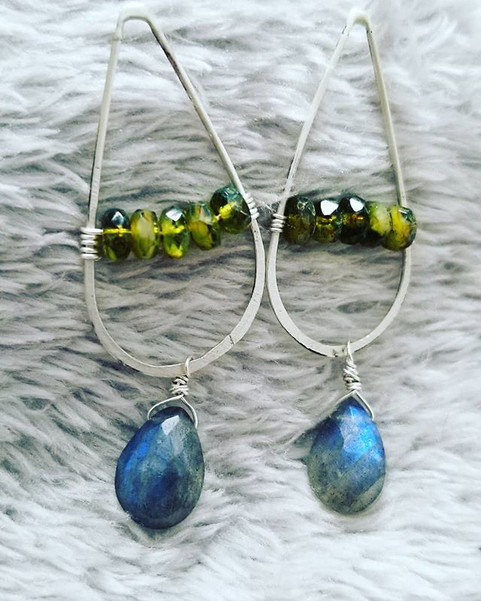 New earrings and jewelry are also in the
