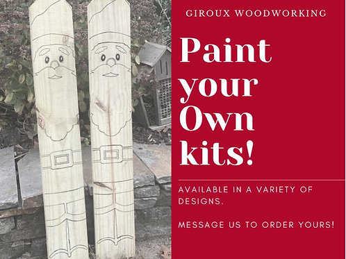 Paint your own kits