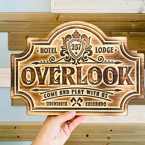 The Shining Overlook Hotel Halloween Decor