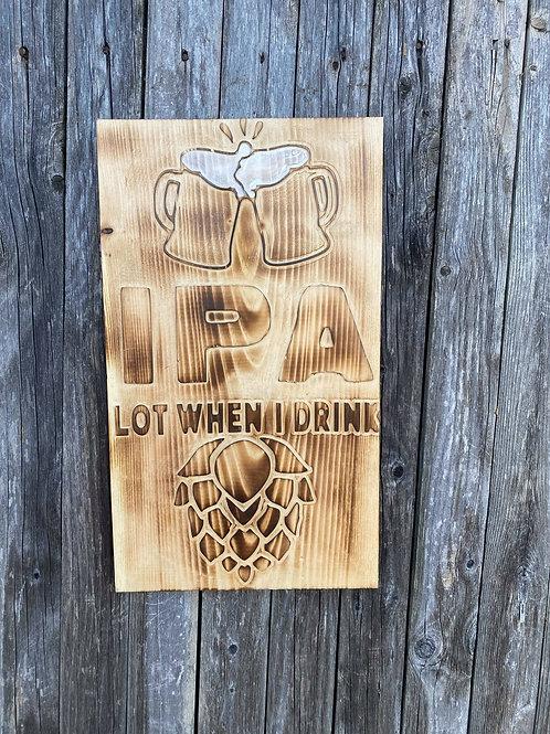 IPA Hop sign