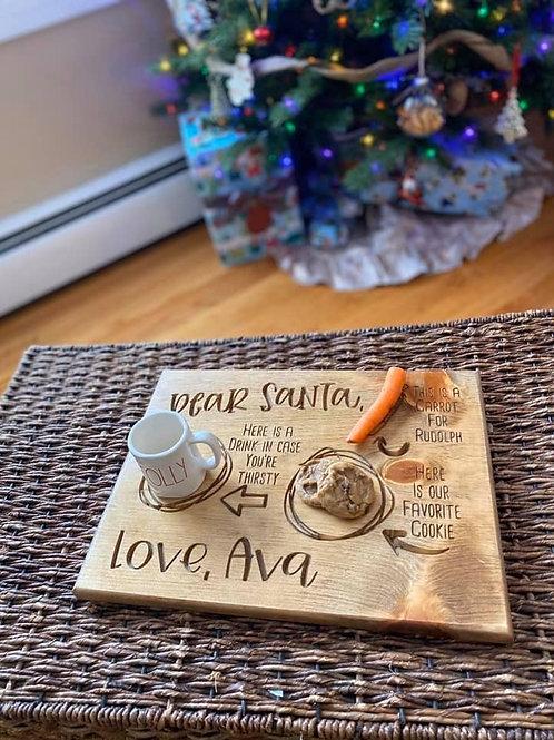 Custom Santa Tray 15 x 11