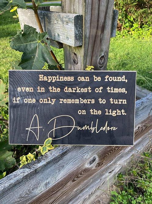 Dumbledore quote 7x12