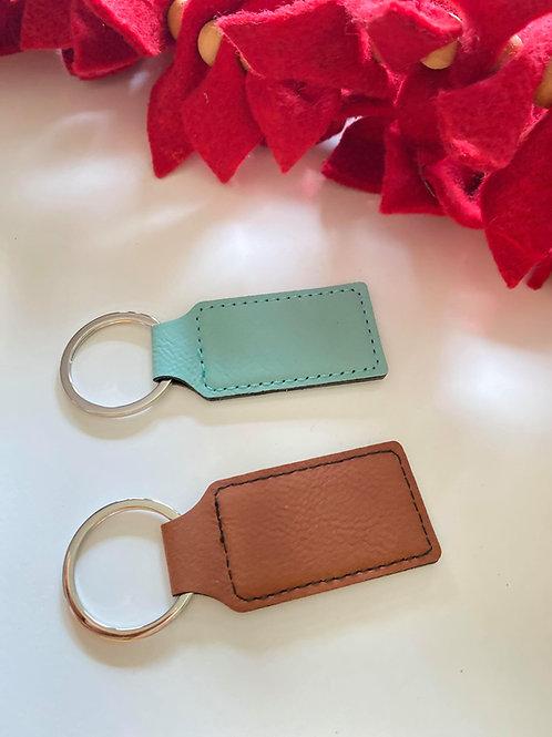 Custom Leatherette Key Chains