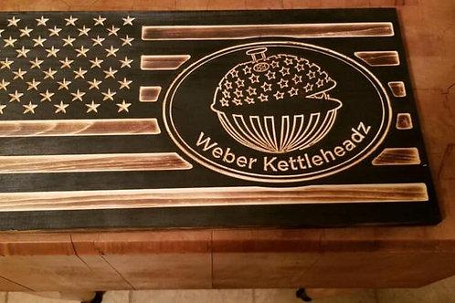 Weber Kettleheadz Flag