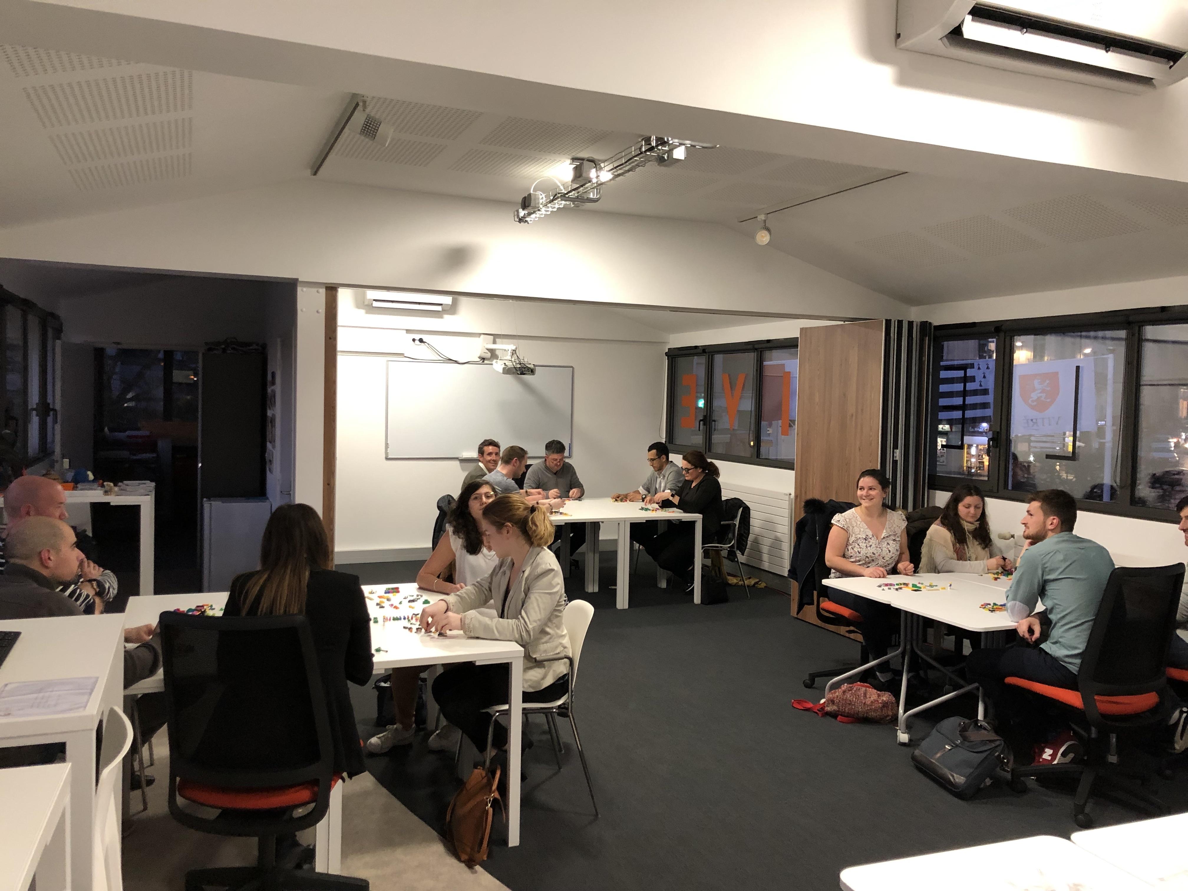 Atelier LSP au FiveLab de Vitré.