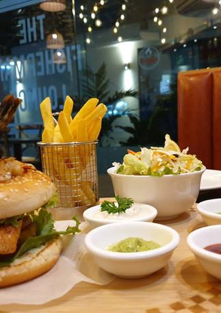 Best burger in Mauritius