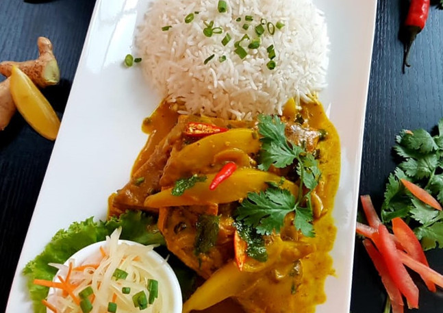 Best Mango Fish curry in Mauritius