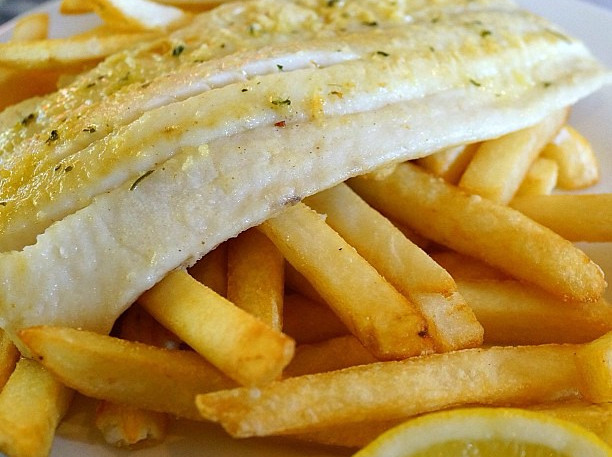 Best Grilled Fish and Chips in Mauritius