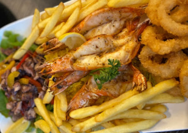 Best seafood platter in Mauritius