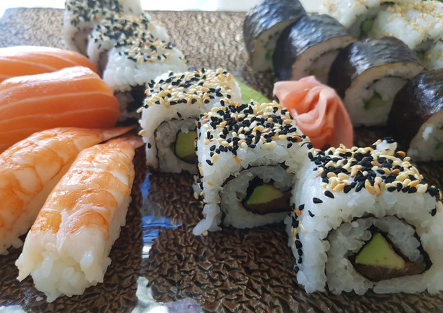 Best sushi in Mauritius at The Fisherman Lounge
