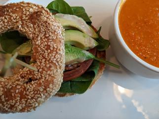 Sandwich végétarien ce jeudi