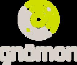 Gnomon_LogoType_LTBrn_Grn_100x