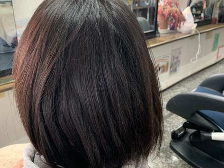 ノフストレートトリートメント 前髪ストレートパーマ