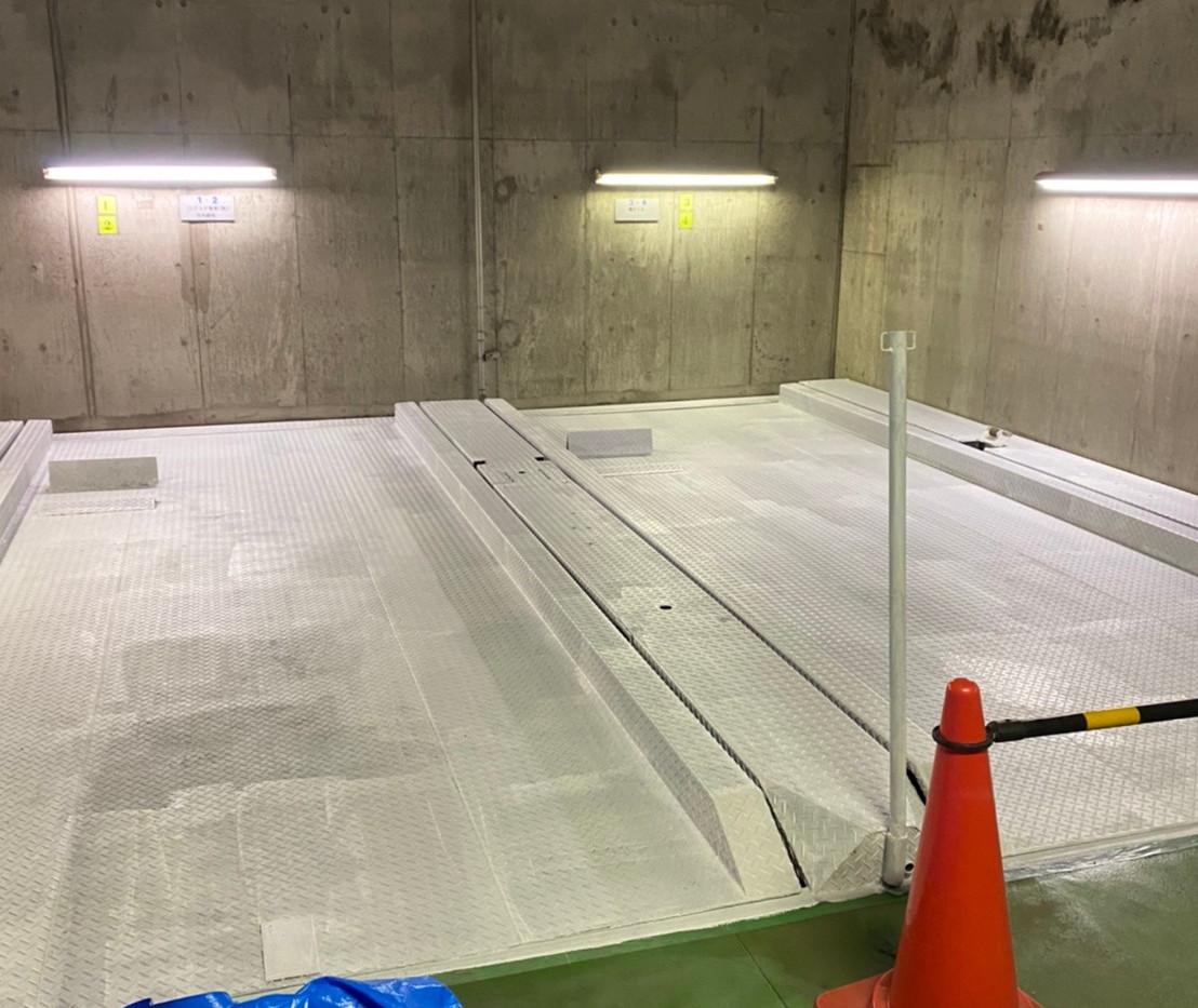 蔵前 立体駐車場塗り替え工事_201102_3.jpg