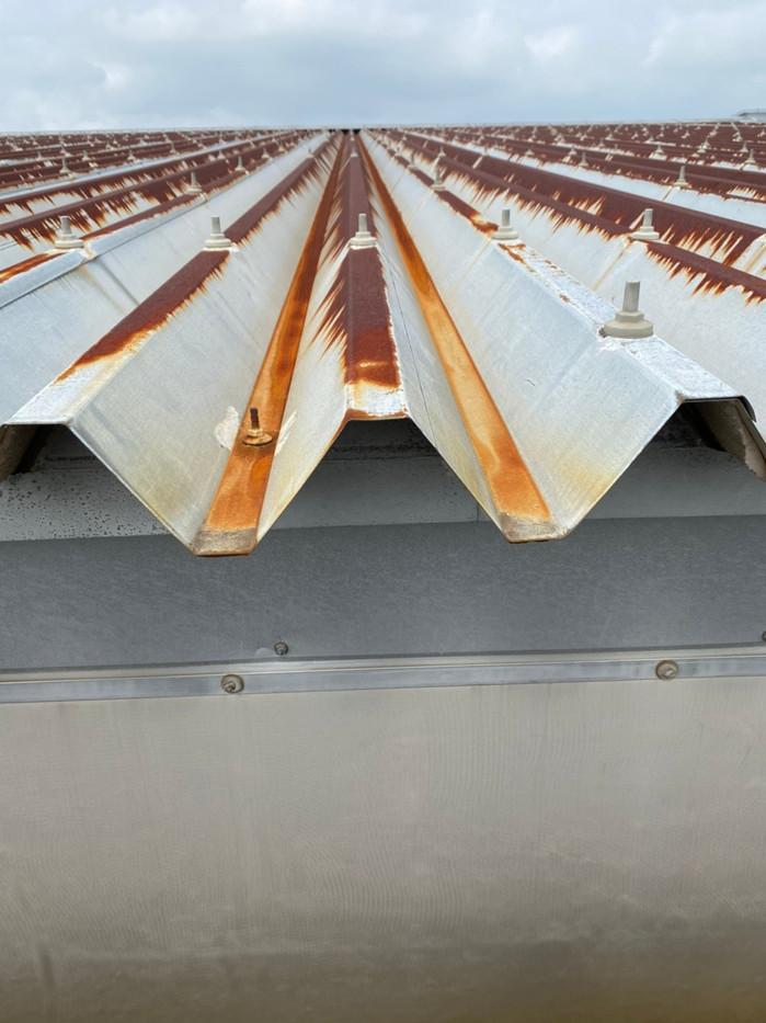 大泉町立東小学校体育館屋根塗装塗り替え塗装工事_201102_4.jpg