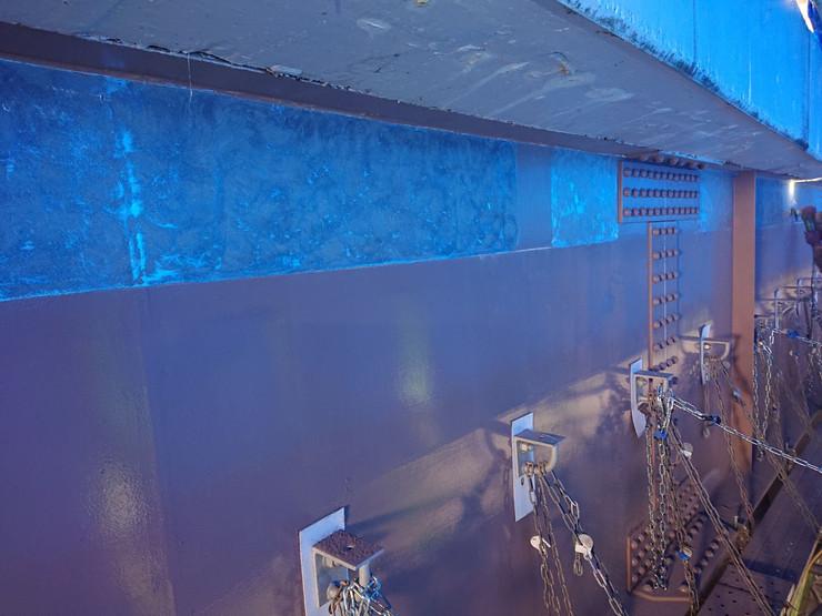 水上町若栗橋耐震補強工事(部材取り付け前、ケレン作業)_201102_1.jpg