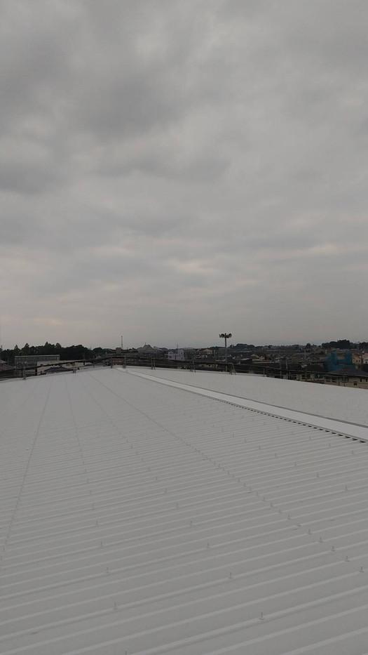 大泉町立東小学校体育館屋根塗装塗り替え塗装工事_201102_5.jpg