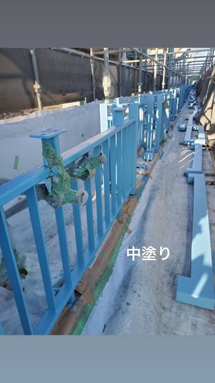 えいたい橋 高欄 塗り替え工事_210205_3.jpg