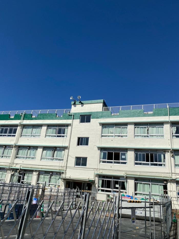 奥戸小学校 外壁塗装工事.jpg