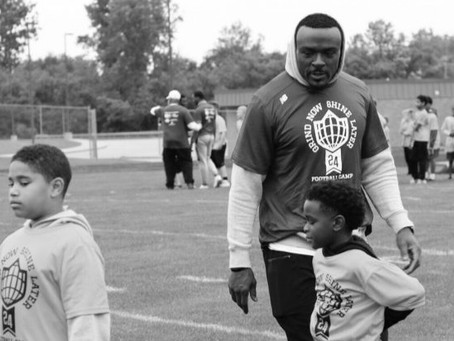 Carr Cares Foundation Hosts 6th Annual Brandon Carr Elite Football & Cheerleading Camp