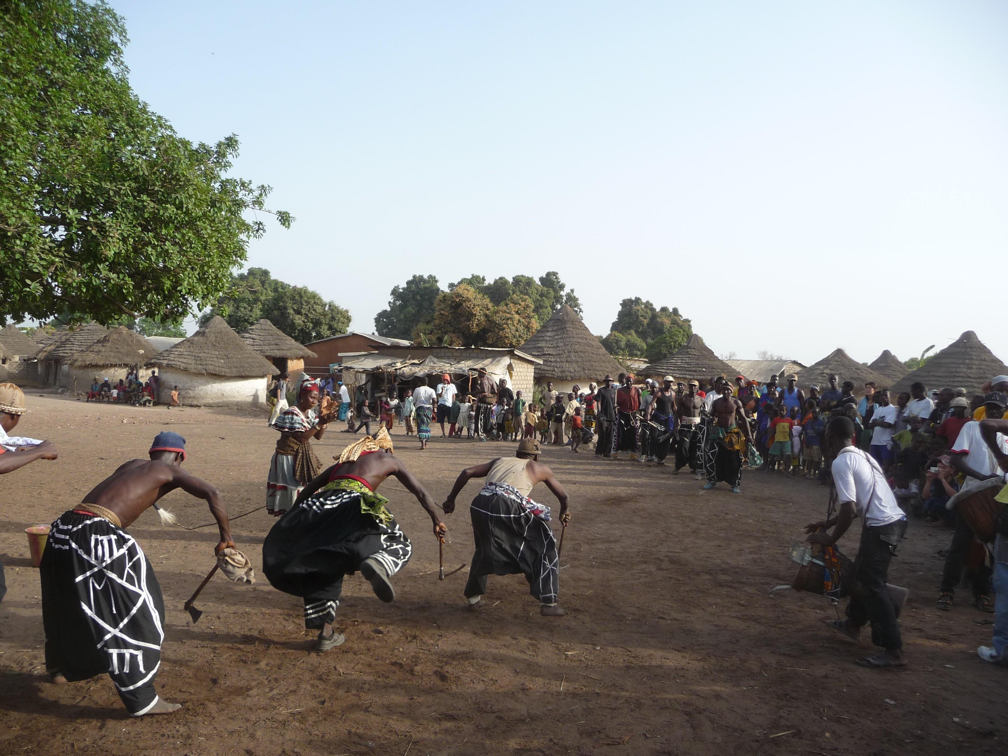 サンバララ村(ギニア共和国)